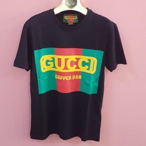 GUCCI MEN BLACK SHORT SLEEVE